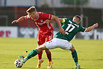 22.11.2020, Dietmar-Scholze-Stadion an der Lohmuehle, Luebeck, GER, 3. Liga, VfB Luebeck vs FC Bayern Muenchen II <br /> <br /> im Bild / picture shows <br /> Fiete Arp (FC Bayern Muenchen II) im Zweikampf gegen Tommy Grupe (VfB Luebeck) <br /> <br /> DFB REGULATIONS PROHIBIT ANY USE OF PHOTOGRAPHS AS IMAGE SEQUENCES AND/OR QUASI-VIDEO.<br /> <br /> Foto © nordphoto / Tauchnitz