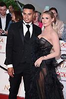 Toby Aromolaran and Chloe Burrows<br /> arriving for the National Television Awards 2021, O2 Arena, London<br /> <br /> ©Ash Knotek  D3572  09/09/2021