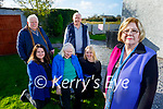 The nephews, nieces and grand nieces, descendants of Thomas Archer gather in Listowel on Friday. Front right: Emelda Murphy. Seated: Patricia, Margaret and Denise Kelliher. Back l to r: John and Eamon Hartnett.