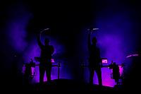 SAO PAULO, SP 06.04.2019: LOLLAPALOOZA-SP - Show com Odesza. Lollapalooza Brasil 2019, que acontece de 05 a 07 de abril no Autodromo de Interlagos, zona sul da capital paulista. (Foto: Ale Frata/Codigo19)