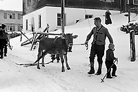 Loisirs alamontage bavaroise, allemagne,1ntre 1932 et 1935<br /> <br /> Leisure at bavarian mountain,germany,between 1932 and 1935