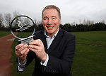 Ally McCoist picks up the SPFL League One manager of the month award