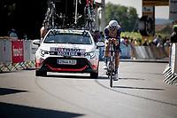 Bauke Mollema (NED/Trek-Segafredo)<br /> <br /> Stage 20 (ITT) from Libourne to Saint-Émilion (30.8km)<br /> 108th Tour de France 2021 (2.UWT)<br /> <br /> ©kramon
