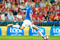 Italy's Leonardo Bonucci during FIFA World Cup 2018 Qualifying Round match. September 2,2017.(ALTERPHOTOS/Acero)