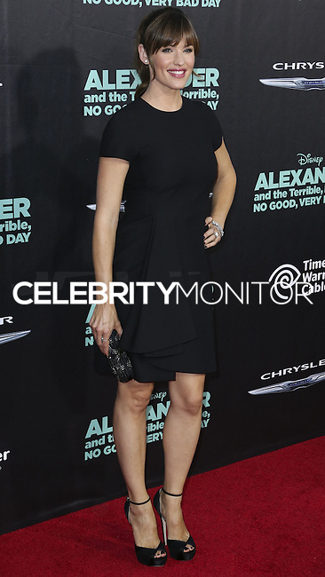 HOLLYWOOD, LOS ANGELES, CA, USA - OCTOBER 06: Jennifer Garner arrives at the World Premiere Of Disney's 'Alexander And The Terrible, Horrible, No Good, Very Bad Day' held at the El Capitan Theatre on October 6, 2014 in Hollywood, Los Angeles, California, United States. (Photo by Xavier Collin/Celebrity Monitor)