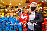 Katie Fuller from Kilmorna enjoying her Celebrations sweets in Garvey's Listowel on Tuesday.