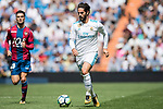 Francisco Roman Alarcon Suarez of Real Madrid in action during the La Liga match between Real Madrid and Levante UD at the Estadio Santiago Bernabeu on 09 September 2017 in Madrid, Spain. Photo by Diego Gonzalez / Power Sport Images