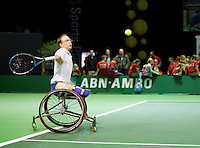 Februari 11, 2015, Netherlands, Rotterdam, Ahoy, ABN AMRO World Tennis Tournament, Frederic Cattaneo (FRA)<br /> Photo: Tennisimages/Henk Koster