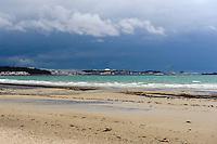 St. Aubin's Bay mit Blick auf St.Helier, Insel Jersey, Kanalinseln