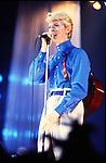 David Bowie 1984.© Chris Walter.