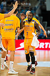 Herbalife Gran Canaria's player Bo McCalebb during the final of Supercopa of Liga Endesa Madrid. September 24, Spain. 2016. (ALTERPHOTOS/BorjaB.Hojas)