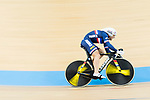 The team of France with Thomas Denis, Corentin Ermenault, Florian Maitre and Benjamin Thomas compete in Men's Team Sprint 1st Round match as part of the 2017 UCI Track Cycling World Championships on 12 April 2017, in Hong Kong Velodrome, Hong Kong, China. Photo by Victor Fraile / Power Sport Images