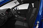 Front seat view of 2018 Subaru WRX Base 4 Door Sedan front seat car photos