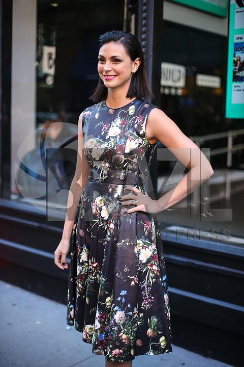 NOVA YORK, EUA, 27.02.2017 - CELEBRIDADES-EUA - A atriz brasileira Morena Baccarin é vista na Ilha de Manhattan na cidade de New York nos Estados Unidos nesta terça-feira, 27. (Foto: Vanessa Carvalho/Brazil Photo Press)