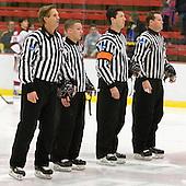 Todd Whittemore, Cameron Lynch, Scott Wheeler, Brett Reed - The Harvard University Crimson defeated the visiting Bentley University Falcons 5-0 on Saturday, October 27, 2012, at Bright Hockey Center in Boston, Massachusetts.