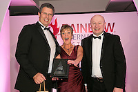 Rainbow International Restoration held their annual reunion at the Belfry Hotel Nottingham. Pictured is Administrator of the Year Helen Foster