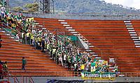ENVIGADO - COLOMBIA, 18-09-2021:Envigado y el Deportes Quindio en partido por la fecha 10 como parte de la Liga BetPlay DIMAYOR II 2021 jugado en el estadio  Polideportivo Sur de Envigado. /Envigado and Deportes<br /> Quindio in match for the date 10 as part of the BetPlay DIMAYOR League II 2021 played at  Polideportivo Sur stadium in Envigado. Photo: VizzorImage / Donaldo Zuluaga  / Contribuidor