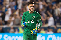 HARRISON, New Jersey - Tuesday July 25, 2017: Tottenham Hotspur takes on AS Roma during the Guinness International Champions Cup at Red Bull Arena.