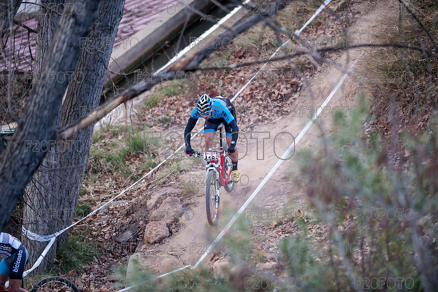 Chelva, SPAIN - MARCH 6: Jabel Balserio during Spanish Open BTT XCO on March 6, 2016 in Chelva, Spain