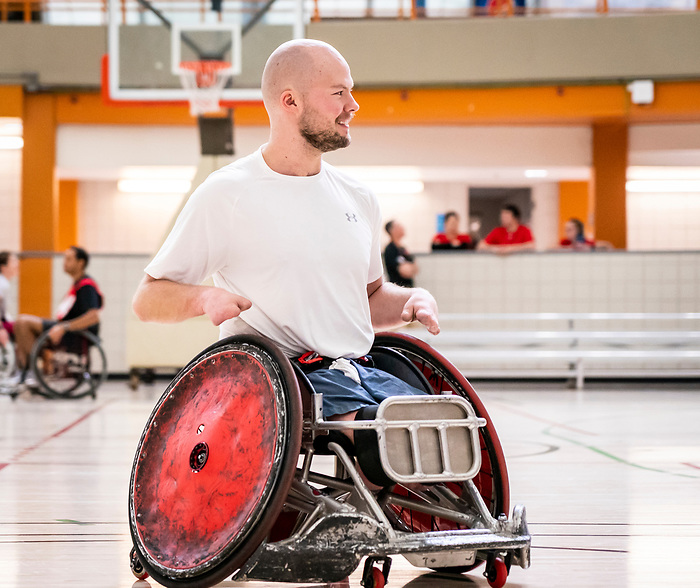 FEBRUARY 20, 2020: CALGARY, AB - Highlights from the Canadian Paralympic Committee's ParaTough Cup at the Repsol Sport Centre (Photo: Dave Holland/Canadian Paralympic Committee)