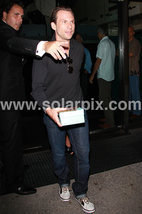 **ALL ROUND PICTURES FROM SOLARPIX.COM**.**WORLDWIDE SYNDICATION RIGHTS**.**NO PUBLICATION IN USA, DENMARK, GERMANY OR RUSSIA.Christian Slater and his girlfriend Tamara Mellon have a late night dinner at Mr. Chow Restaurant in Beverly Hills, USA. 17th August 2008..This pic: Christian Slater.JOB REF: 7049 LAP/Lancer        DATE: 17_08_2008.**MUST CREDIT SOLARPIX.COM OR DOUBLE FEE WILL BE CHARGED* *UNDER NO CIRCUMSTANCES IS THIS IMAGE TO BE REPRODUCED FOR ANY ONLINE EDITION WITHOUT PRIOR PERMISSION*