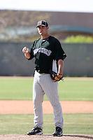 Rhett Ballard, Colorado Rockies 2010 minor league spring training..Photo by:  Bill Mitchell/Four Seam Images.