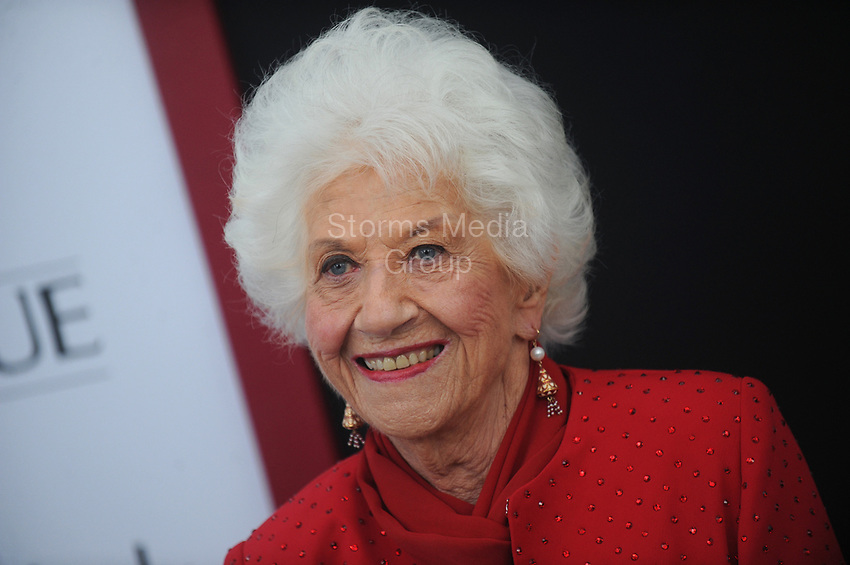 NEW YORK, NY - AUGUST 03: Charlotte Rae  attends the 'Ricki And The Flash' New York premiere at AMC Lincoln Square Theater on August 3, 2015 in New York City.<br /> <br /> People:  Charlotte Rae