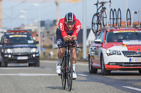 Jasper Debuyst (BEL/Lotto Soudal)<br /> <br /> 3 Days of De Panne 2017<br /> afternoon stage 3b: ITT De Panne-De Panne (14,2km)