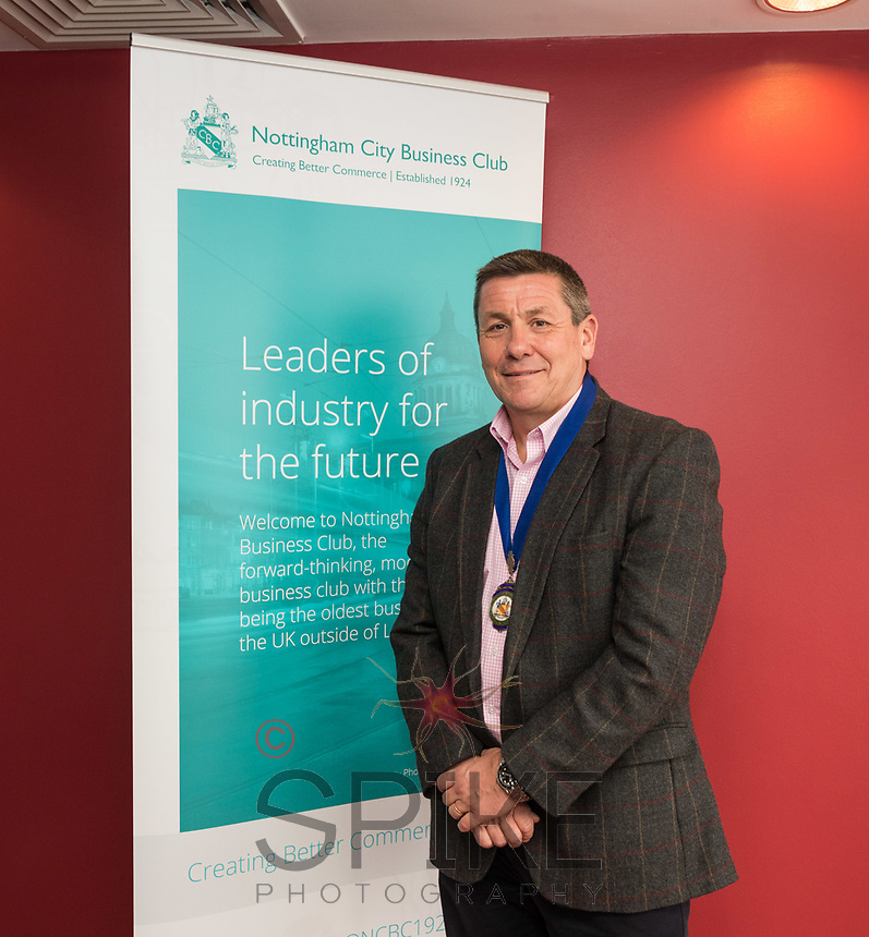 Nigel Rowlson of The Dairy Creative Agency is President of Nottingham City Business Club