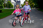 Enjoying a cycle in the Demesne in the National Park, Killarney on Sunday, l to r: Roisin and Katie Fleming