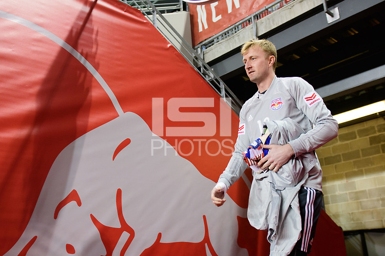 Harrison, NJ - Thursday March 01, 2018: Ryan Meara. The New York Red Bulls defeated C.D. Olimpia 2-0 (3-1 on aggregate) during a 2018 CONCACAF Champions League Round of 16 match at Red Bull Arena.