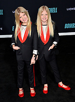 """LOS ANGELES, USA. December 11, 2019: London Fuller & Sedona Fuller at the premiere of """"Bombshell"""" at the Regency Village Theatre.<br /> Picture: Paul Smith/Featureflash"""