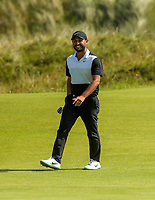 150719 | The 148th Open - Monday Practice<br /> <br /> Alexander Levy of France on the 16th green during practice for the 148th Open Championship at Royal Portrush Golf Club, County Antrim, Northern Ireland. Photo by John Dickson - DICKSONDIGITAL