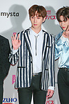 """Shin-Won(PENTAGON), May 19, 2019 : K-Culture festival """"KCON 2019 JAPAN"""" at the Makuhari Messe Convention Center in Chiba, Japan. (Photo by Pasya/AFLO)"""