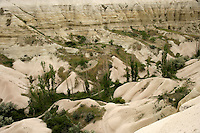 White valley, Cappadocia, Turkey