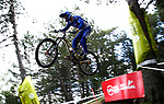 Coulanges Benoit (FRA) Downhill training sesion, UCI, Moutain Bike World Cup , Vallnord Andorra. 12/07/2018
