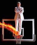 Florida State University basketball coach Pat Kennedy