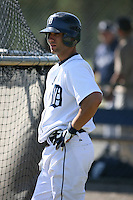 March 21st 2008:  Lou Ott of the Detroit Tigers minor league system during Spring Training at Tiger Town in Lakeland, FL.  Photo by:  Mike Janes/Four Seam Images