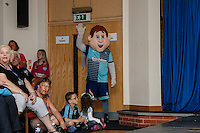 Bodger, the Wycombe Wanderers mascot, during the 2016/17 Kit Launch of Wycombe Wanderers to the public at Adams Park, High Wycombe, England on 10 July 2016. Photo by David Horn.