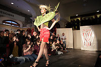 February 2013 - Montreal, Quebec, CANADA - Je t'aime en Chocolat 2013 : 2nd edition of Montreal's event featuring chocolate tasting and fashion shows of dresses and hats with chocolate