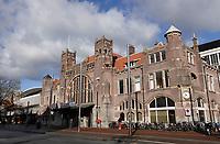 Nederland  Haarlem 2020.   Station Haarlem.   Foto : ANP/ HH / Berlinda van Dam