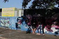 Campinas (SP), 08/02/2021 - Educação - Movimentação no primeiro dia de volta as aulas na EE Padre Jose dos Santos, no Jardim Campos Elíseos, na cidade de Campinas, interior de São Paulo, nesta segunda-feira (8).