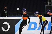 SCHAATSEN: HEERENVEEN: 13-12-2020, IJsstadion Thialf, Shorttrack, NK Shorttrack Afstanden, Jens van 't Wout, ©foto Martin de Jong