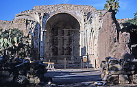 San Juan Capistrano, California Mission. Photo 1988.