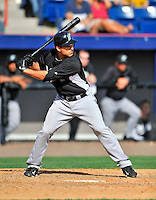 2 March 2011: Florida Marlins infielder Tim Torres in action during a Spring Training game against the Washington Nationals at Space Coast Stadium in Viera, Florida. The Nationals defeated the Marlins 8-4 in Grapefruit League action. Mandatory Credit: Ed Wolfstein Photo