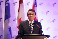 Jean D'Amour, <br /> Minister for Maritime Affairs, Québec attend the 22nd edition of the Conference of Montreal, held June 13 to 15, 2016<br /> <br /> PHOTO : Pierre Roussel -  Agence Quebec Presse