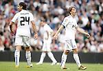Real Madrid's Sergio Canales dejected during La Liga Match. April 02, 2011. (ALTERPHOTOS/Alvaro Hernandez)