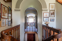BNPS.co.uk (01202) 558833.<br /> Pic: CarterJonas/BNPS<br /> <br /> Pictured: First floor landing. <br /> <br /> The former family home of Lord of the Flies author William Golding has gone on sale for £1m.<br /> <br /> The Grade II Listed cottage on a green in Marlborough is said to have inspired some of the Nobel Prize winning writer's work.<br /> <br /> His parents Alec, a teacher, and Mildred, a suffragette, bought the house and moved there in 1905, when Mr Golding obtained a job at the town's grammar school.<br /> <br /> Sir William was born in 1911 and he and his brother lived in the property and its location influenced his writing. He wrote of the property: 'Our house was on the green, that close like square, tilted south'.