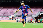 Andre Filipe Tavares Gomes of FC Barcelona in action during the La Liga 2017-18 match between FC Barcelona and Las Palmas at Camp Nou on 01 October 2017 in Barcelona, Spain. (Photo by Vicens Gimenez / Power Sport Images