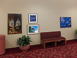 "Four of the seven images by Michael Knapstein selected for the ""Reflections: Madison"" exhibit at the Monona Terrace Community and Convention Center."